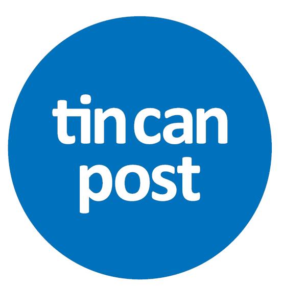 Tin Can Post Logo
